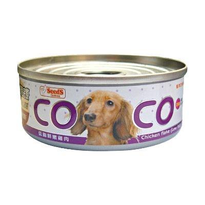【寵物王國】聖萊西COCO-愛犬機能餐罐【低脂鮮嫩雞肉】80g