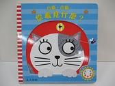 【書寶二手書T6/少年童書_DJJ】小貓,小貓,你看見什麼?_喬‧羅吉,  李紫蓉