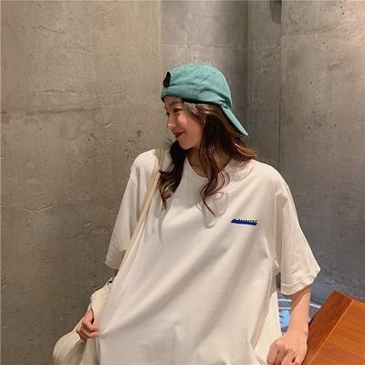 (下殺)彈性棉市場價短袖T恤印花【08SG06612】