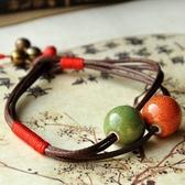 陶瓷手鍊-簡約民族風生日情人節禮物女串珠手環4色73gw16【時尚巴黎】