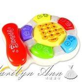 嬰幼兒童玩具電話機嬰兒早教小孩益智音樂手機寶寶0-1-3歲12個月 瑪麗蓮安