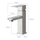 【麗室衛浴】國產精緻304白鐵 不鏽鋼面盆龍頭 LS2395