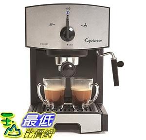 [7美國直購] 咖啡機 Capresso 117.05 Stainless Steel Pump Espresso and Cappuccino Machine EC50