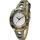 Epico 橢圓系列復古迷彩腕錶 EP-3CAKHL