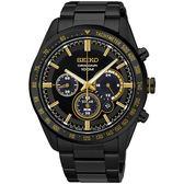 SEIKO 精工錶 Criteria 太陽能 藍寶石水晶鏡面 限量計時碼錶 SSC473P1 熱賣中!