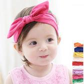 簡約純色棉感兔耳髮帶 兒童髮飾 髮帶