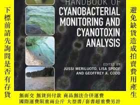 二手書博民逛書店Handbook罕見of Cyanobacterial Monitoring and Cyanotoxin Ana