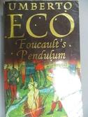 【書寶二手書T1/原文小說_OMV】Foucault s pendulum_Umberto Eco