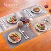 餐墊隔熱墊餐桌墊西餐墊家用防水防油防燙北歐pvc日式餐布盤碗墊