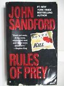 【書寶二手書T7/原文小說_AHF】Rules of Prey_John Sandford