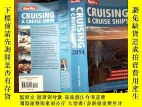 二手書博民逛書店CRUISING罕見CRUISE SHIPS 2014 外文書Y