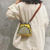 貝殼包 上新迷你小包包仙女夏天小清新貝殼包學生側背斜背包ins 美物居家館