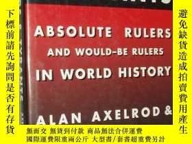 二手書博民逛書店英文原版:Dictators罕見& Tyrants: Absol