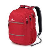 HIGH SIERRA Glitch Backpack 可收納17吋筆電 後背包 登山包 休間包-[H04-QU045-紅色][禾雅時尚]
