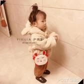 女童包包 伊伊家 韓版兒童包包斜挎包可愛公主時尚卡通女童包包寶寶小挎包 polygirl