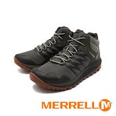 MERRELL(男)NOVA 2 MID GTX防水郊山健行中筒鞋 男鞋-綠(另有黑)