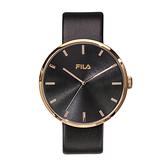【FILA 斐樂】簡約風時尚潮流腕錶-個性黑/38-177-102/台灣總代理公司貨享兩年保固