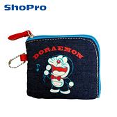 【日本正版】哆啦A夢 L型 零錢包 收納包 卡片包 小叮噹 DORAEMON - 418267
