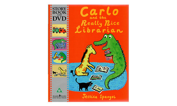 CARLO AND THE REALLY NICE LIBRARIAN /書+DVD