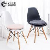 餐桌椅子坐墊厚冬季凳子墊子圓形榻榻米家用記憶棉座墊屁股墊