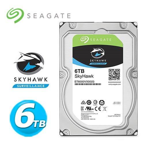 Seagate【SkyHawk】監控鷹 6tb 3.5吋監控硬碟 (ST6000VX0023)