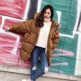 羽絨外套-韓版時尚休閒百搭白鴨絨女連帽夾克73pl3【巴黎精品】