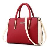 時尚商務女包新款大款手提包兩用側背斜背掛包女用包包辦公袋LX聖誕交換禮物