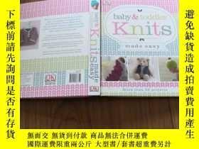 二手書博民逛書店Baby罕見& Toddler Knits Made Easy