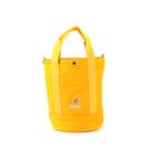 KANGOL 側背包 帆布包 鮮黃色 6925300860 noA55