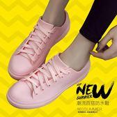 雨鞋 -韓國淺口雨鞋女時尚防滑防水鞋低筒短筒雨靴廚房工作膠鞋成人水靴 霓裳細軟