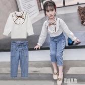 女童套裝2019新款秋冬時髦洋氣春裝小孩衣服時尚兒童兩件套 LR12046【原創風館】