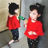 童裝兒童短袖T恤衫1-3-5歲女童棉質打底衫女寶寶夏裝上衣小孩衣服【全館八八折促銷】