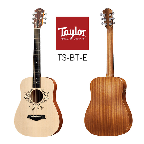 小叮噹的店-Taylor TS-BT-E Baby Taylor 雲杉木 面單 34寸旅行吉他 泰勒吉他