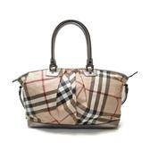 BURBERRY 巴寶莉 粉色牛皮壓紋兩用手提肩背包2way Bag 【二手名牌BRAND OFF】
