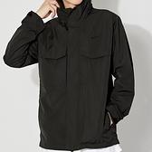 Nike AS M NSW PE Lnd HD M65 男 黑 休閒 工裝 長袖 外套 CZ9880-010