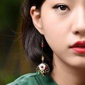 耳環 民族風原創復古氣質耳環中國風簡約百搭耳墜超仙 巴黎春天