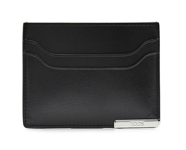 TOD'S Card Holder 信用卡夾 名片夾 卡片夾 黑