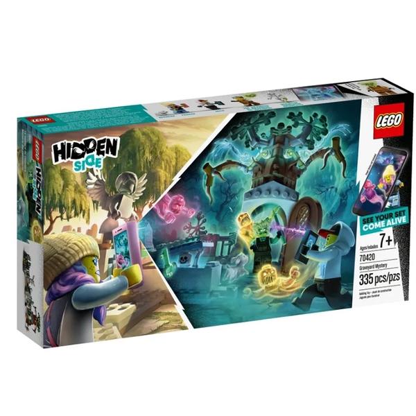 LEGO 樂高 Hidden Side 系列 Graveyard Mystery 70420