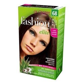 (單件85折) [Oyster歐絲特] 植物性染髮劑--68號(咖啡色)Dark Tobacco Blond