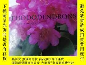 二手書博民逛書店Rhododendrons罕見(a care manual) 杜