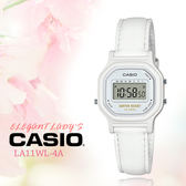 CASIO 手錶專賣店 CASIO_ LA-11WL-7A_女錶_皮帶 耐水性 1/10秒秒錶 全新品