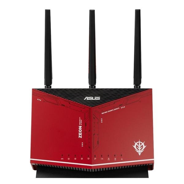 ASUS 華碩 RT-AX86U 雙頻 WiFi 6 電競無線路由器 鋼彈薩克限量款
