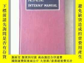 二手書博民逛書店A.M.A.INTERNS罕見MANUAL(1948年英文原版)