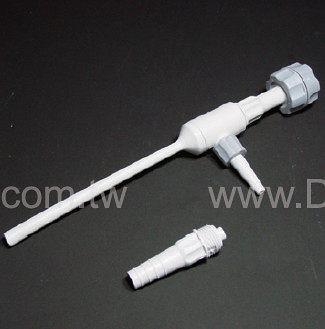 《VITLAB》塑膠吸氣管螺旋接頭Water-Jet Vacuum Pump, PP