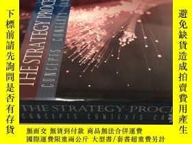 二手書博民逛書店英文精裝原版罕見The Strategy Process: Co