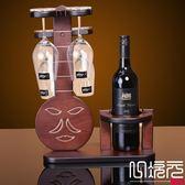 琵琶琴樂器實木酒架木質紅酒架葡萄酒架歐式裝飾品簡約洋家居擺件一次元