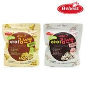 韓國 Bebest 貝思 海苔脆點心|寶寶餅乾|零食(2款可選)