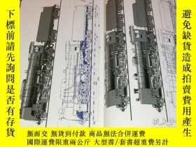 二手書博民逛書店Japanese罕見Steam Locomotive History by Accurate illustrati