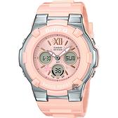 CASIO 卡西歐 Baby-G 櫻花甜美手錶-粉紅 BGA-110BL-4B / BGA-110BL-4BDR