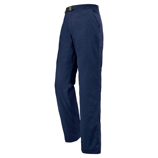 [好也戶外]mont‧bell OD Lining Pants 男款薄刷毛長褲 DKNV No.1105437-深海軍藍